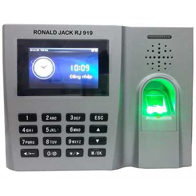 MÁY CHẤM CÔNG VÂN TAY& CẢM ỨNG RONALD JACK RJ 919