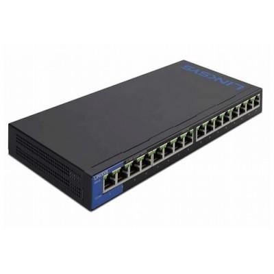 Thiết bị mạng Switch LINKSYS LGS116P 16 port