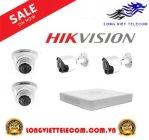 Trọn gói 4 camera HIKVISION   1MP
