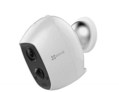 Camera EZVIZ IP hồng ngoại không dây pin sạc CS-C3A-A0-1C2WPMFBR 2MP
