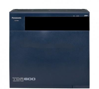 Tổng đài Panasonic KX-TDA600-16-160 16 line vào_160 máy ra