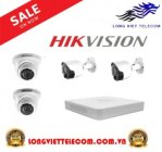 Trọn gói 4 camera HIKVISION | 1MP